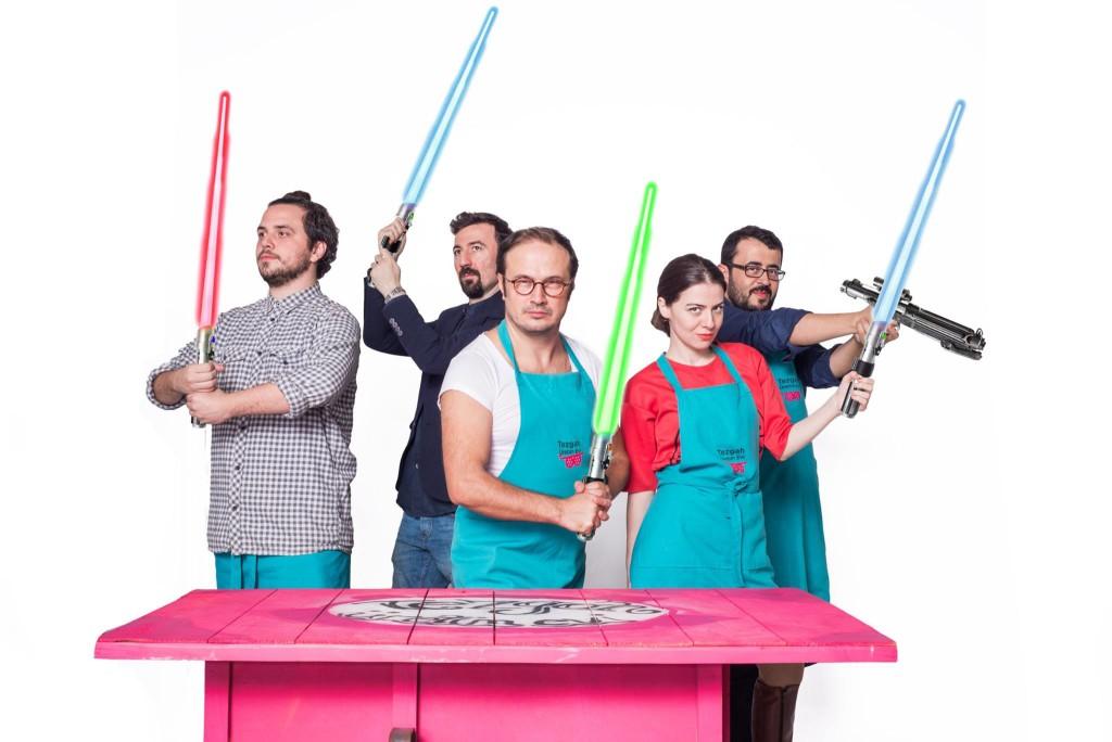 Tezgahçılar'dan Oyunlu Muhabbetli Star Wars Partisi