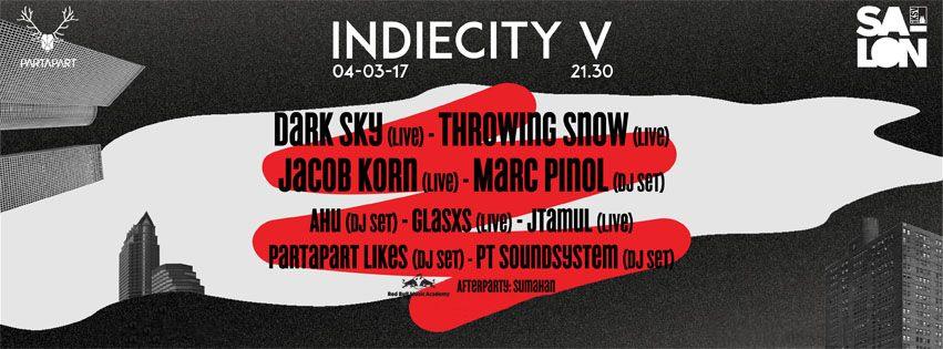 Partapart: IndieCity V, 4 Mart, Salon