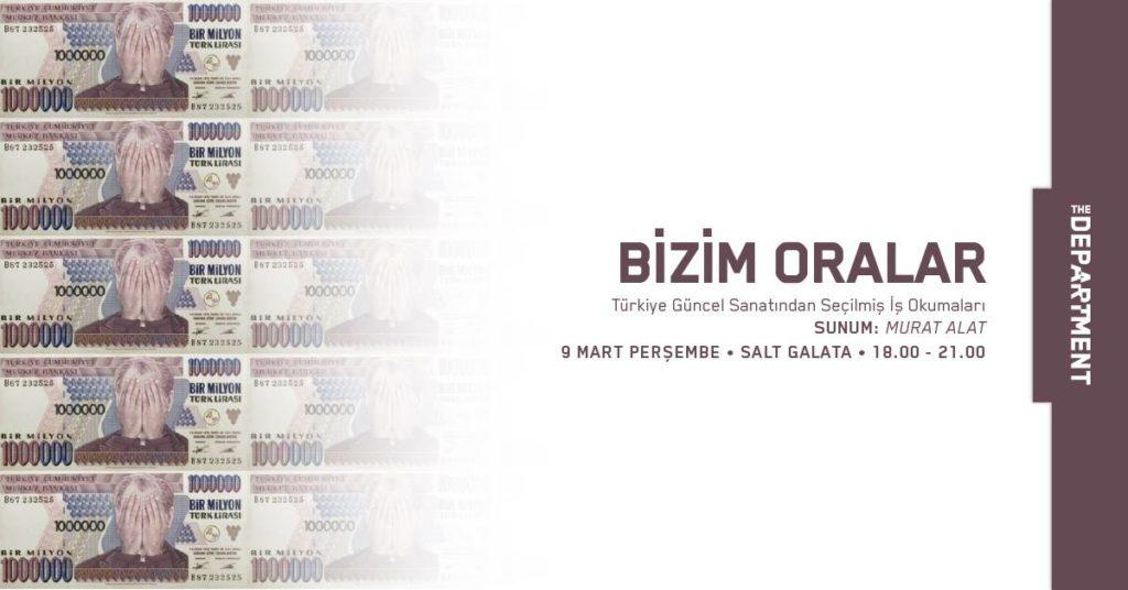 Bizim Oralar: Türkiye Güncel Sanatından Seçilmiş İş Okumaları, Salt Galata