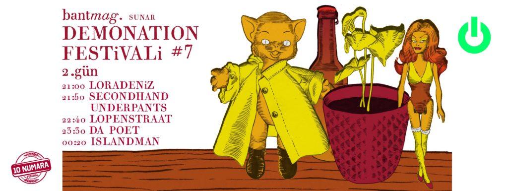 Demonation Festivali No:7 - 2. Gün, 11 Mart, Babylon