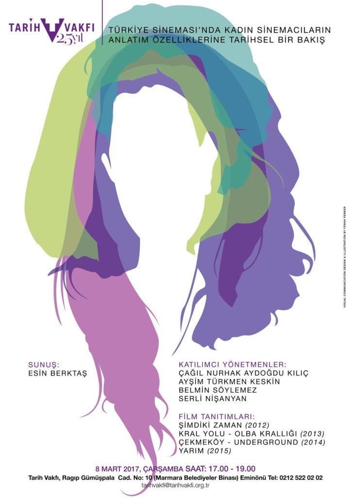 Türkiye Sinemasında Kadın Sinemacıların Anlatım Özelliklerine Tarihsel Bakış, 8 Mart, Tarih Vakfı