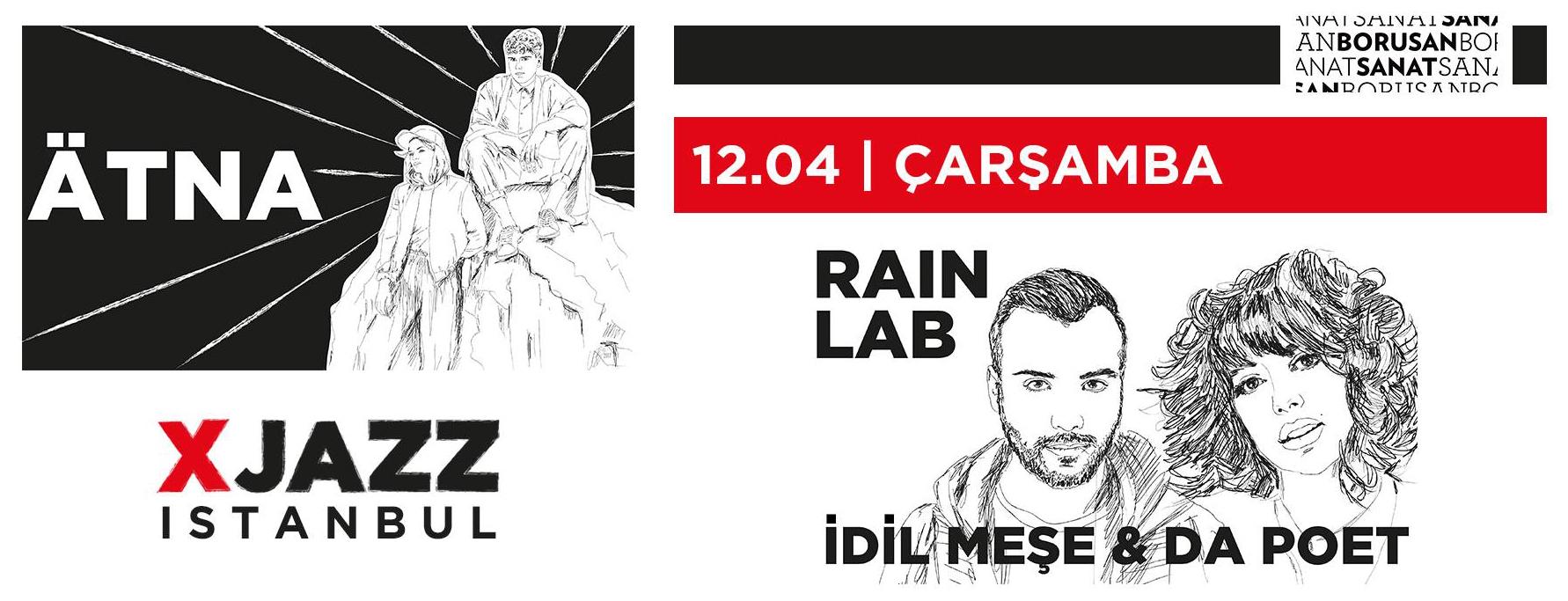Ätna + Rain Lab, 12 Nisan, Borusan Sanat