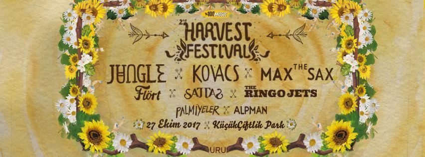 Second Harvest Festival, 27 Ekim Cuma, Küçükçiftlik Park