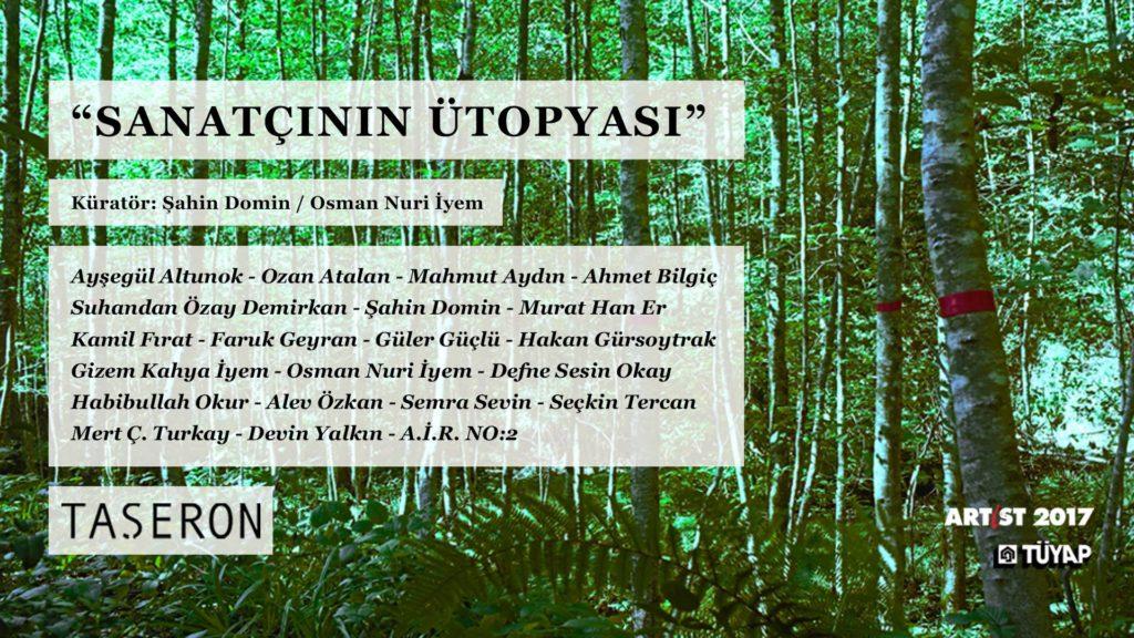 Sanatçının Ütopyası, 4-12 Kasım, TÜYAP