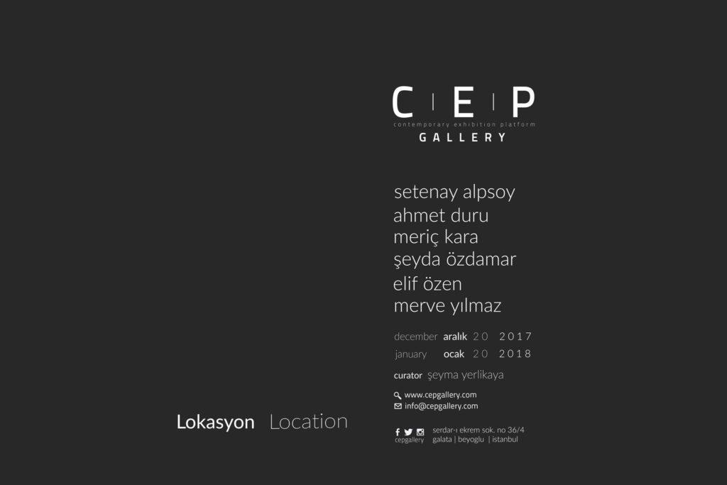 Lokasyon, 20 Ocak'a kadar, Cep Gallery
