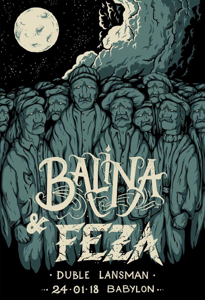 Duble Lansman: Balina + Feza, 24 Ocak Çarşamba, Babylon