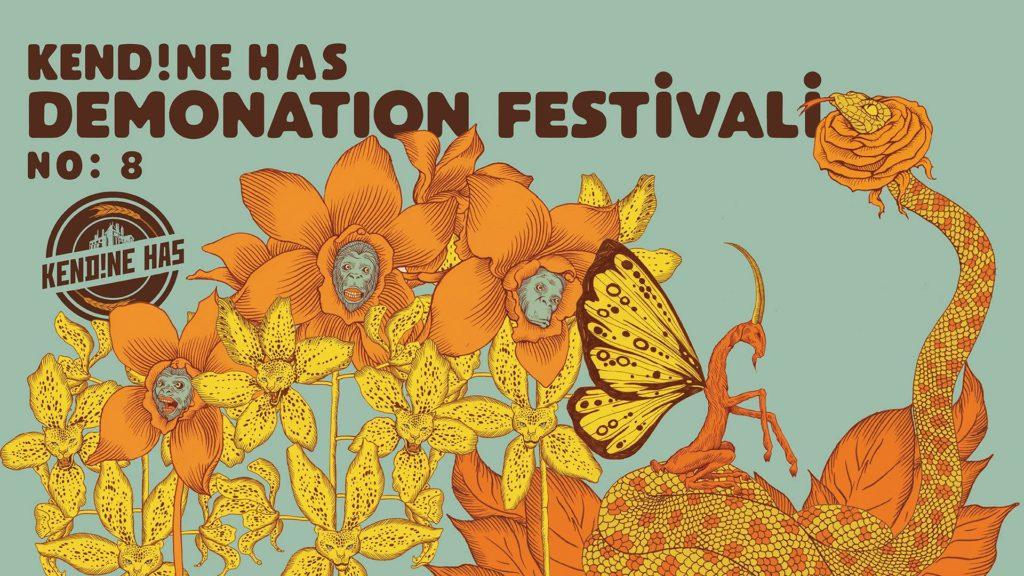 Demonation Festivali No:8, 5-7 Ocak, Çeşitli mekanlar