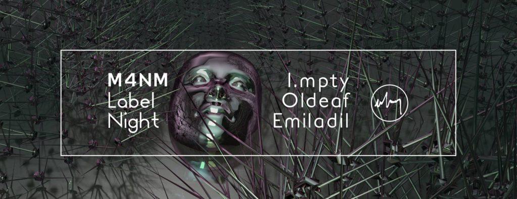 M4NM Label Night (DJ Set), 26 Ocak Cuma, Bina