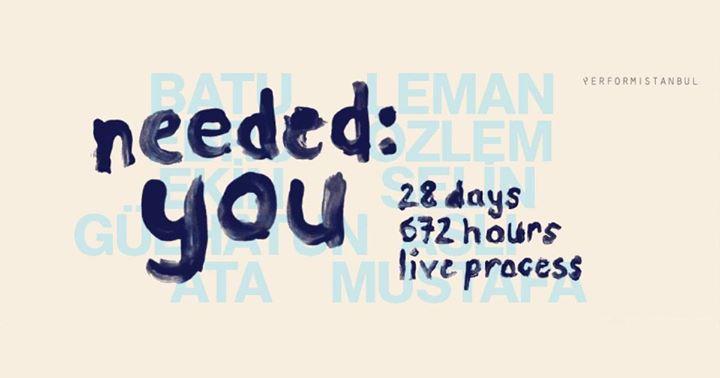 İhtiyaç: Sen, 672 Saat Canlı Süreç, 16 Mart'a kadar, Galata