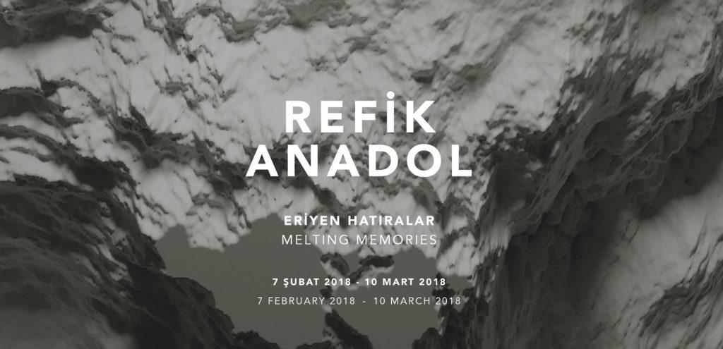 """Refik Anadol """"Eriyen Hatıralar"""", 10 Mart'a kadar, Pilevneli Gallery"""