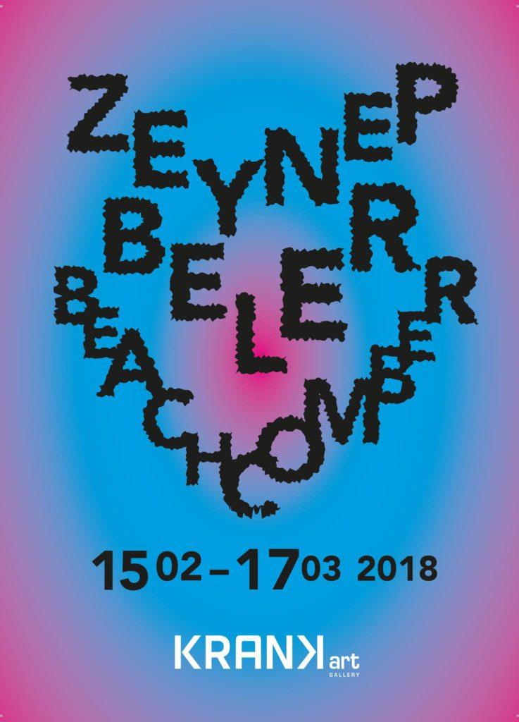 """Zeynep Beler """"Beachcomber"""", 28 Şubat'a kadar, KRANK Art Gallery"""