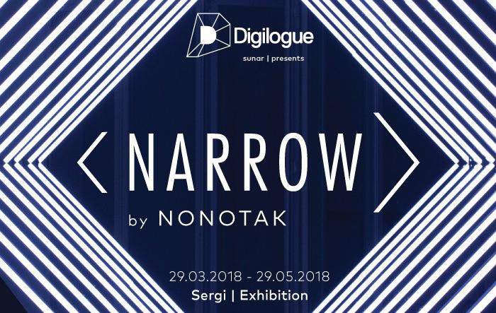 Digilogue Presents Narrow by Nonotak, 29 Mayıs'a kadar, Zorlu PSM Digilogue Space