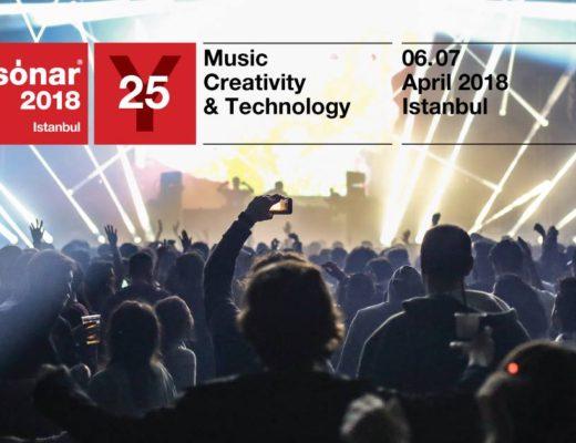 Sónar İstanbul 2018, 6-7 Nisan, Zorlu PSM