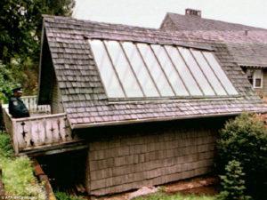 Kurt Cobain'in Seattle'daki evinin garajı