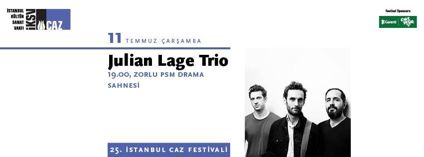 Julian Lage Trio, 11 Temmuz Çarşamba, Zorlu PSM