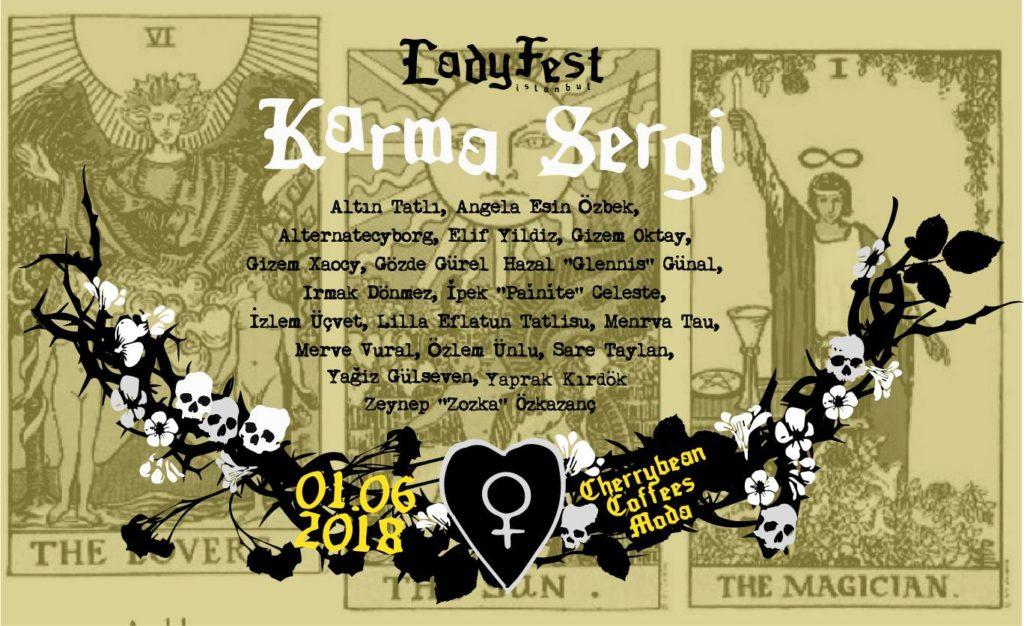 Ladyfest İstanbul Karma Sergi, Haziran boyunca, Cherrybean Coffees