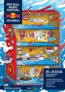 Red Bull Music Festival Istanbul 2018