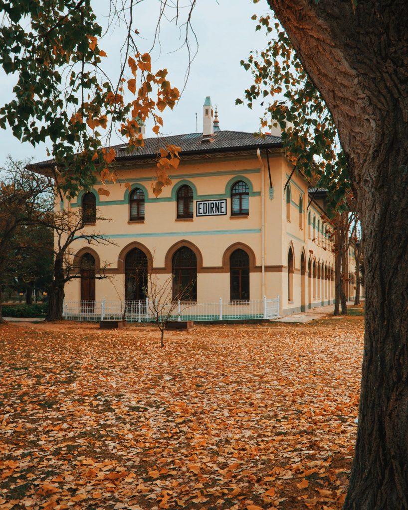 Edirne Tarihi Tren Garı