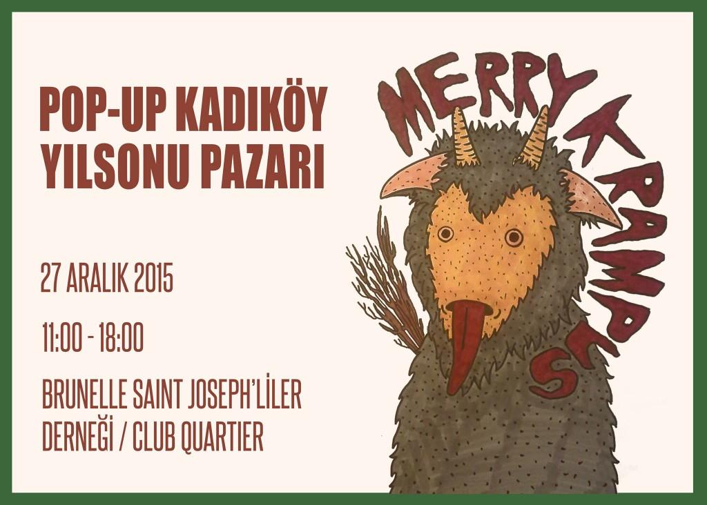 Pop-Up Kadıköy Yıl Sonu Pazarı