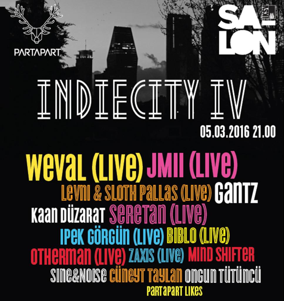 IndieCity festivali 5 Mart'ta Salon'da