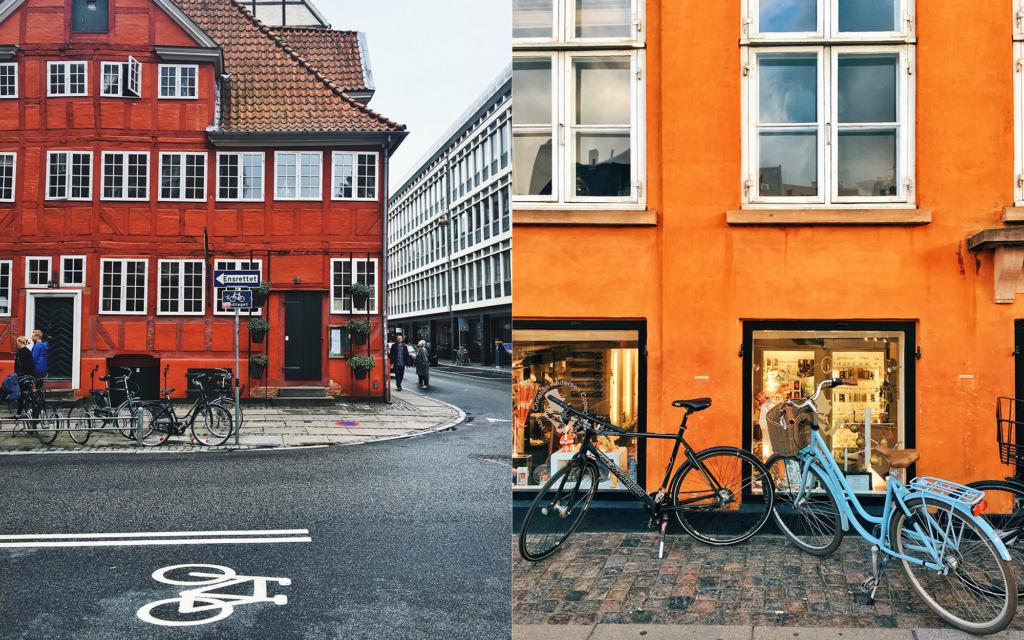 Kopenhag sokakları