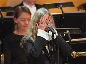 Patti Smith, Nobel ödül töreninde