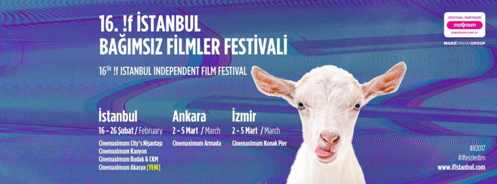 !f İstanbul Bağımsız Filmler Festivali 2017