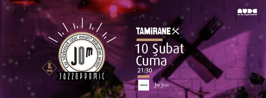 Jazz Open Mic, 10 Şubat, Tamirane UNIQ