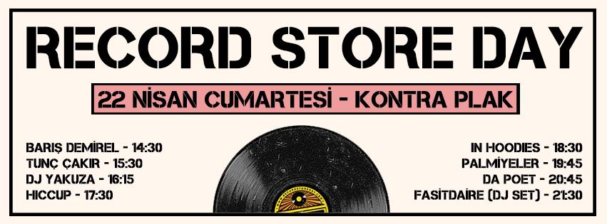 22 Nisan, Record Store Day, Kontra Plak