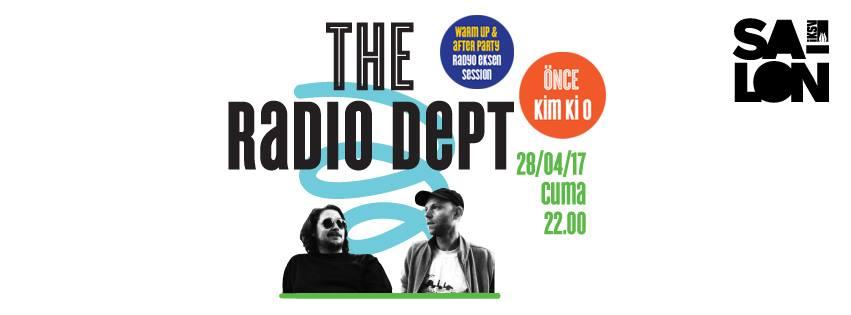 The Radio Dept. + kim ki o, 28 Nisan, Salon