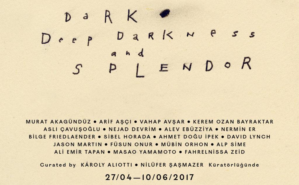 Dark Deep Darkness And Splendor, Galerist