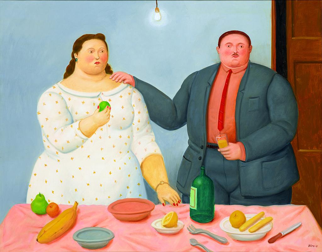 """Botero """"Günlük Yaşamın Şiiri - Hayattan Sahneler"""", Anna Laudel Contemporary"""