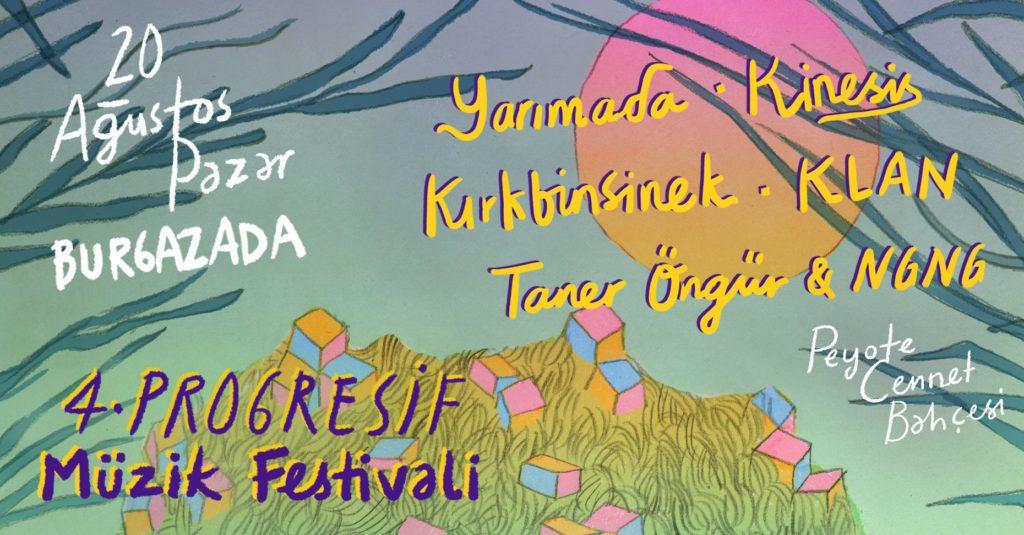 4. Burgazada Progresif Müzik Festivali, 20 Ağustos Pazar, Peyote Cennet Bahçesi