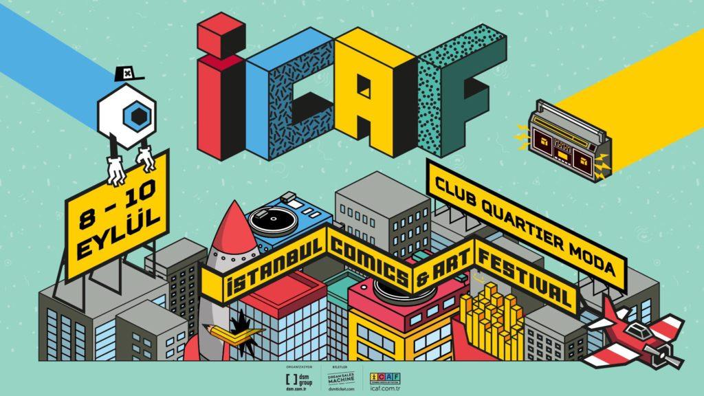 İstanbul Comics & Art Festival, 8-10 Eylül, Club Quartier
