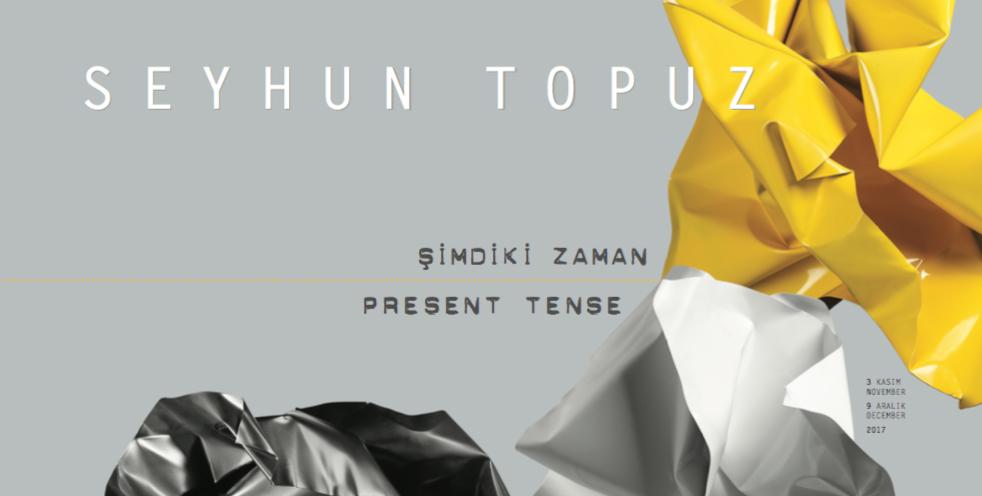 """Seyhun Topuz """"Şimdiki Zaman"""", 9 Aralık'a kadar, Galeri Nev İstanbul"""