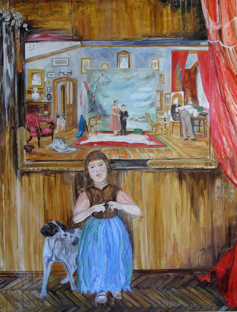 """Nihal Martlı """"Pastiches"""", 7 Ocak'a kadar, C.A.M. Galeri"""