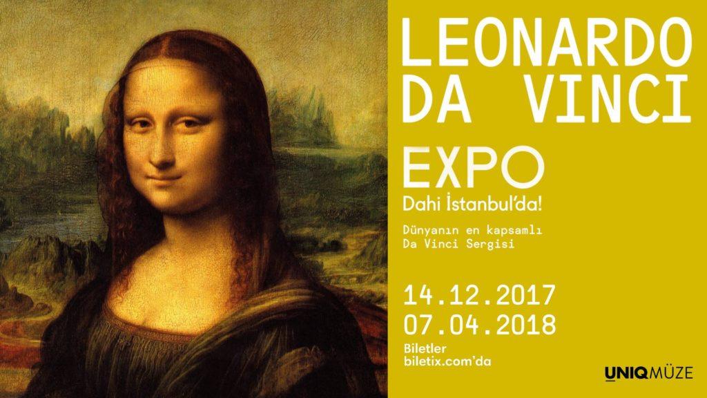 Leonardo Da Vinci Expo, 7 Nisan'a kadar, UNIQ Müze