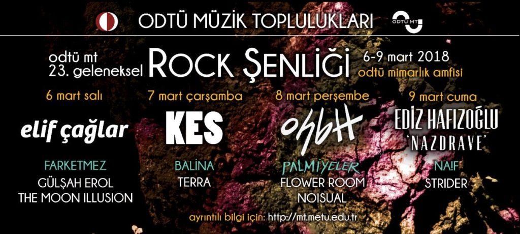 ODTÜ MT 23. Geleneksel Rock Şenliği