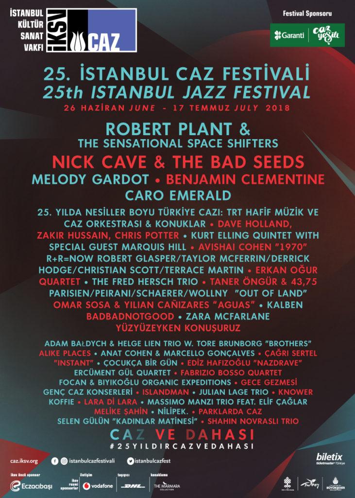 25. İstanbul Caz Festivali