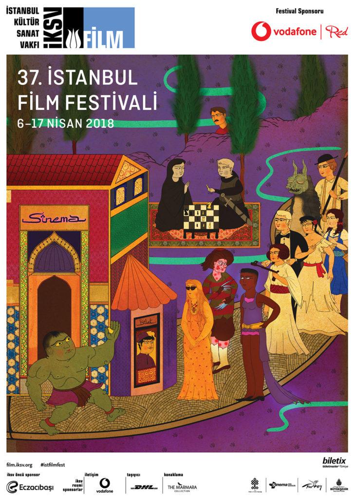 37. İstanbul Film Festivali, 6-17 Nisan, Çeşitli mekanlar