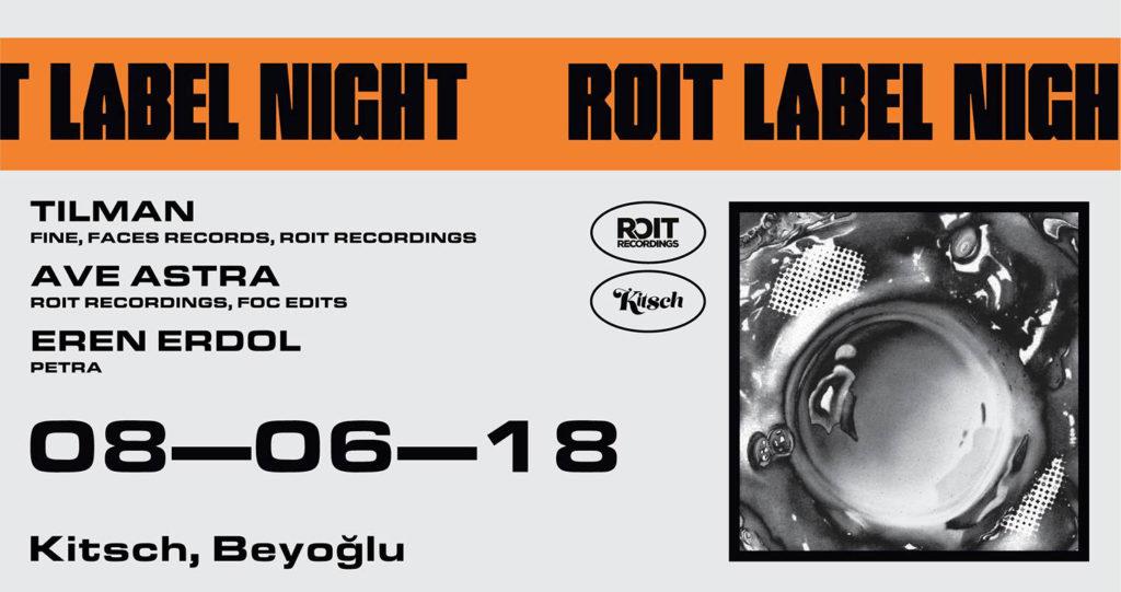 ROIT Label Night w/ Tilman (DE), 8 Haziran Cuma, Kitsch