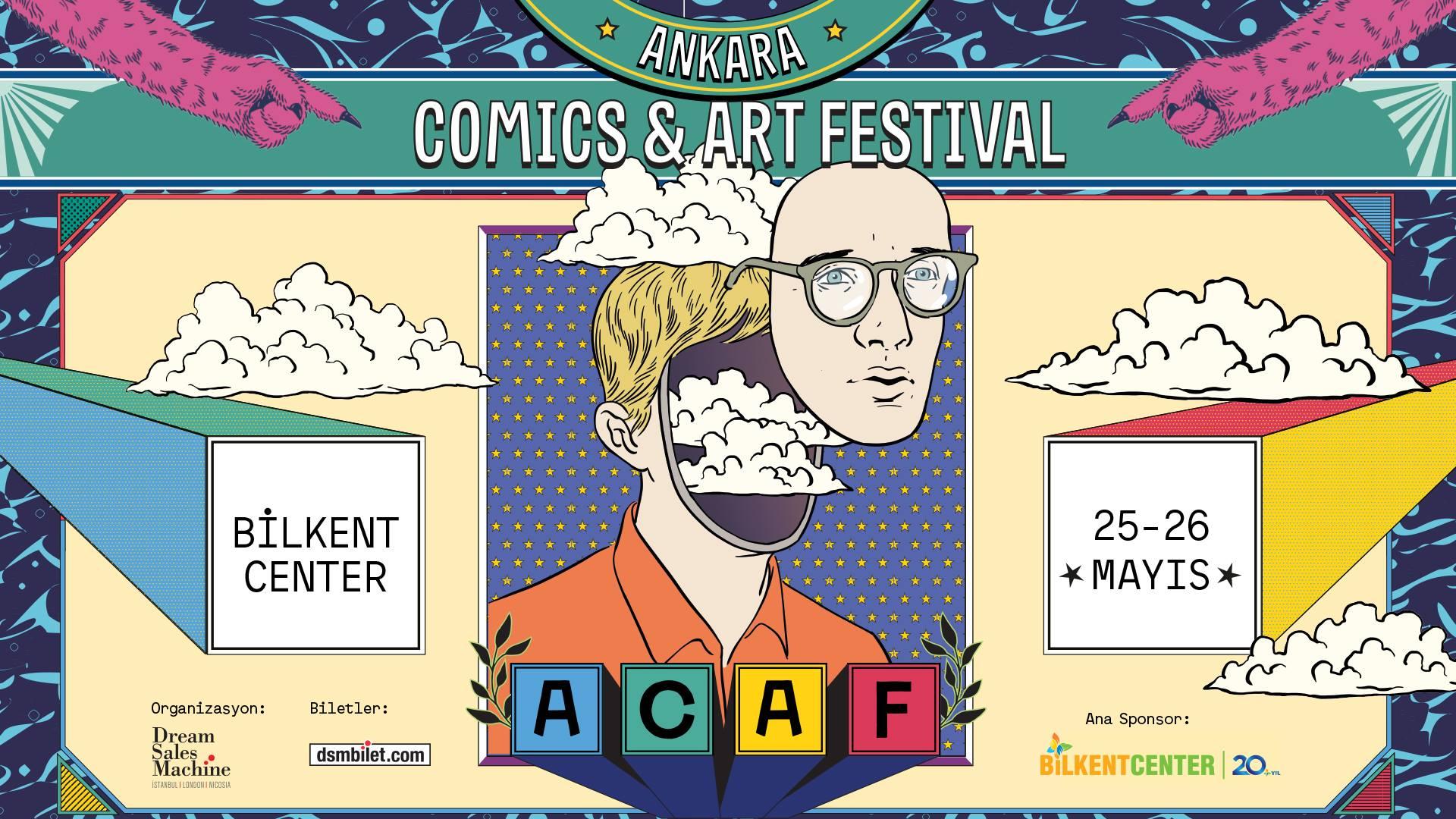 Ankara Comics & Art Festival, 25-26 Mayıs, Bilkent Center / Ankara