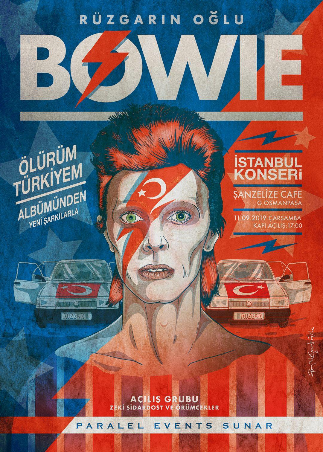Burak Şentürk - David Bowie @ Şanzelize Cafe