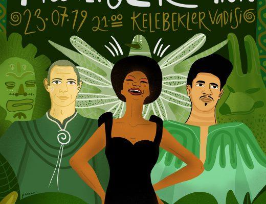Pınar Ulus - Nina Simone & Thievery Corporation @ Kelebekler Vadisi