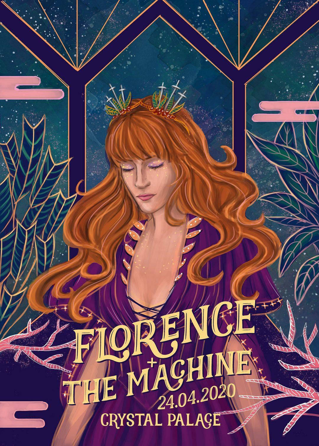 Hande Koçhan - Florence + The Machine @ Crystal Palace