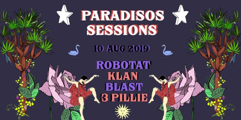 Paradisos Sessions, 10 Ağustos Cumartesi, Cennet Bahçesi Burgazada