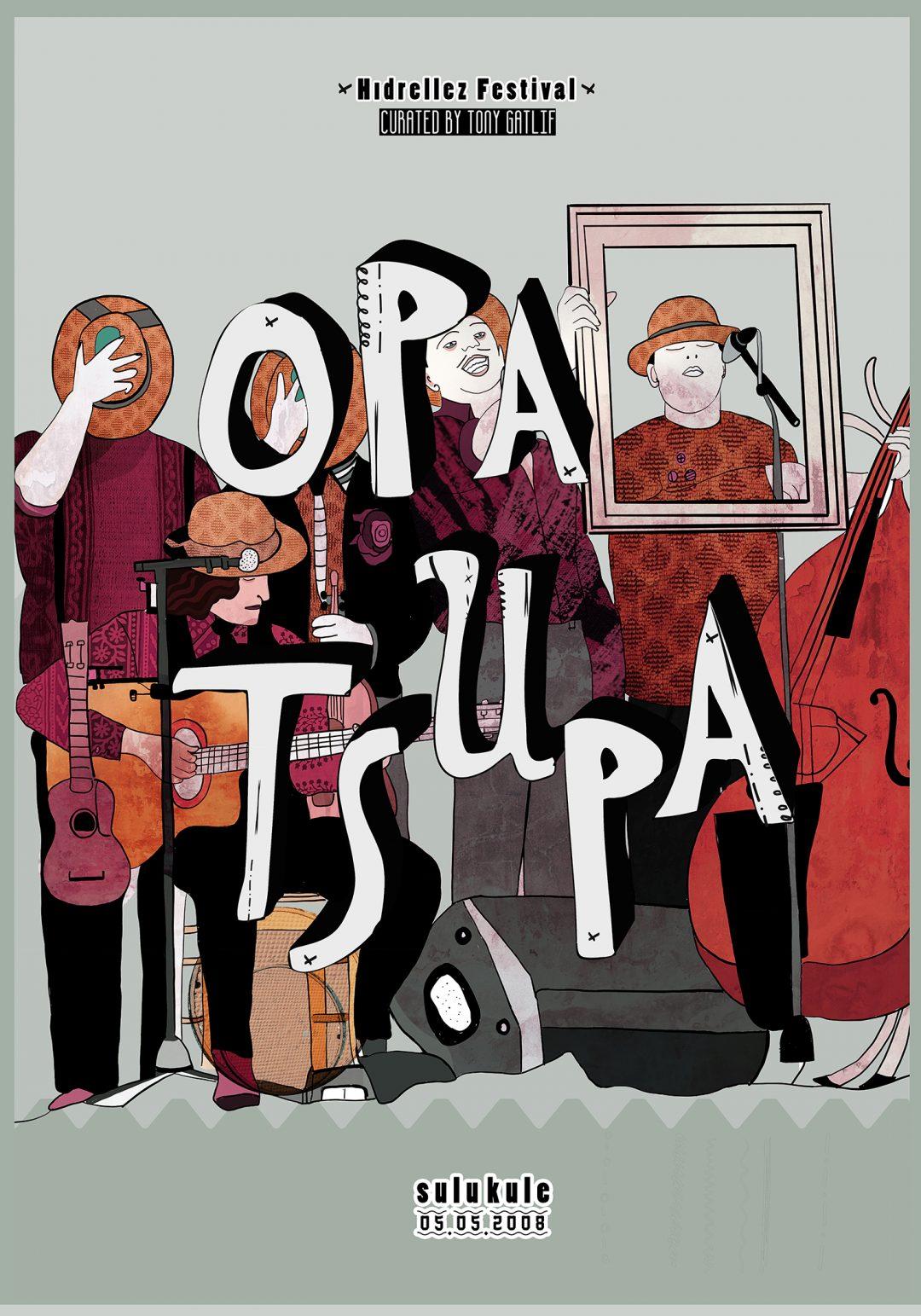 Dream Gigs Illustrated: Berna Kılıçoğlu - Opa Tsupa @ Sulukule