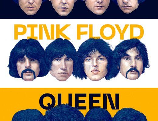 Dream Gigs Illustrated: Aksel Ceylan - The Beatles & Pink Floyd & Queen @ Evin Salonu