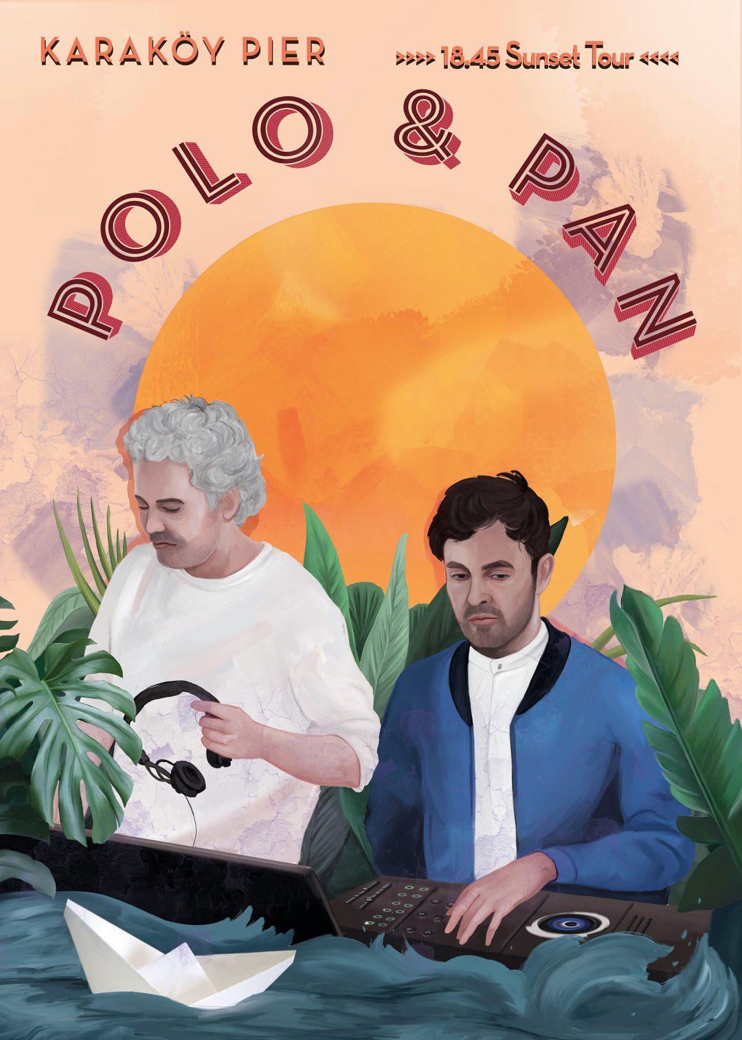 Dream Gigs Illustrated: Ece Haskan - Polo & Pan @ 8:45 Karaköy Vapuru