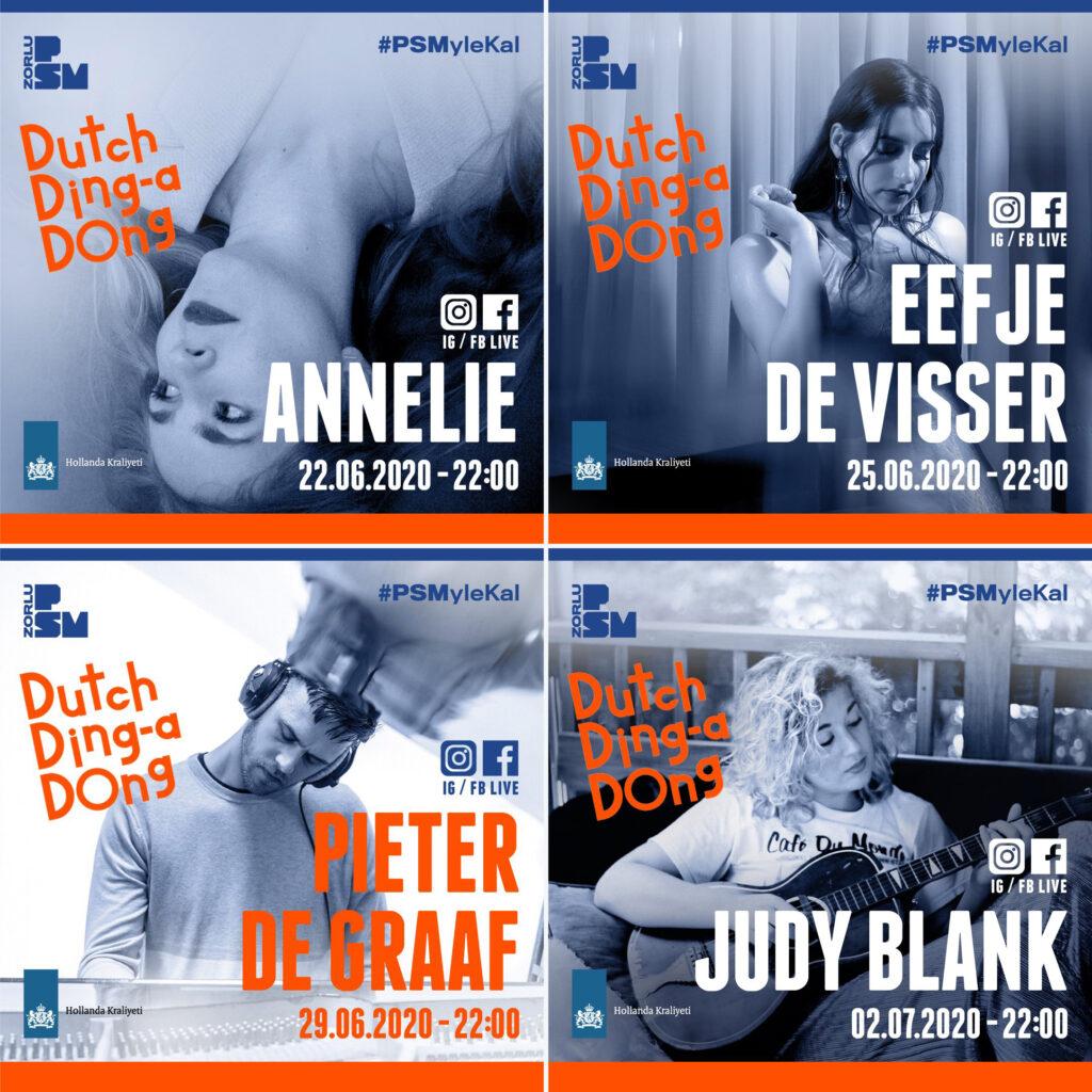 Dutch Ding-a-Dong, 22 Haziran - 2 Temmuz, Zorlu PSM